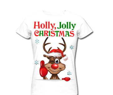 TRICOU PERSONLIZAT ADULT HOLLY JOLLY
