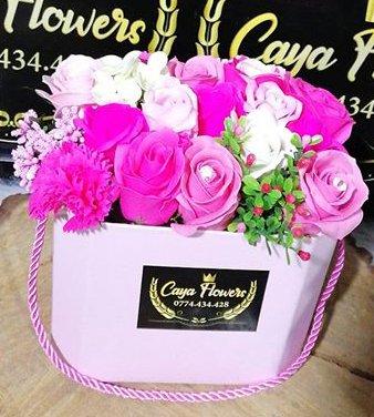Cadou flori de sapun PINKGIFT